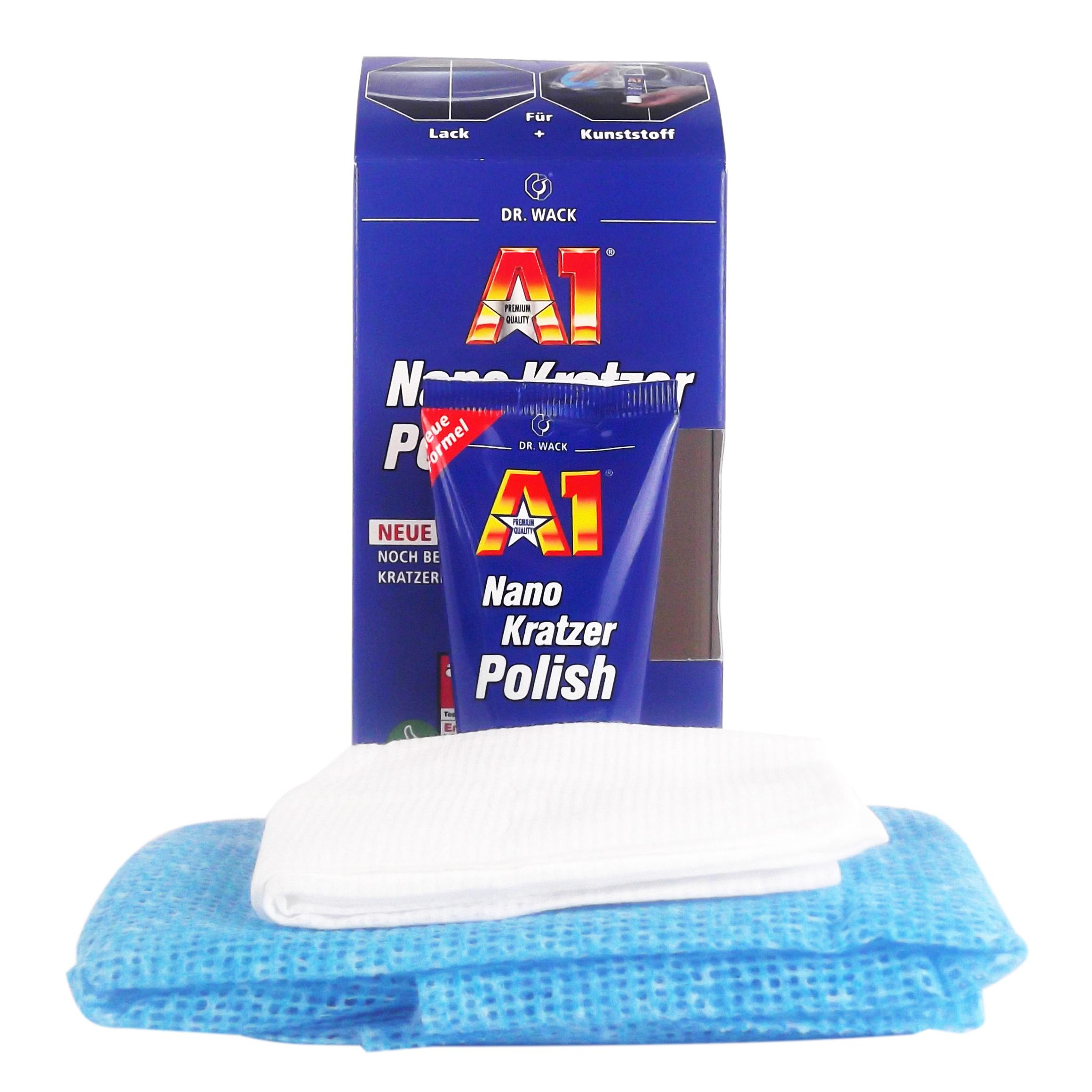 dr wack a1 nano kratzer polish politur kratzer entferner lackpolitur 50 ml ebay. Black Bedroom Furniture Sets. Home Design Ideas