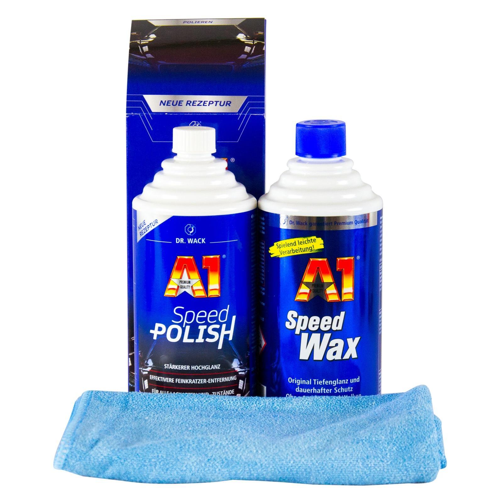 dr wack 1x a1 speed polish politur speed wax wachs 500. Black Bedroom Furniture Sets. Home Design Ideas