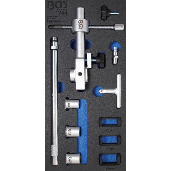 BGS Druckluft-Ventilfederspanner-Satz 15-tlg.