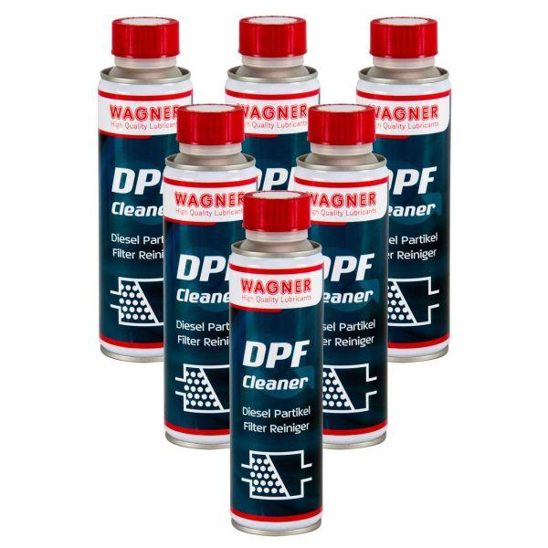 6x WAGNER SPEZIALSCHIERSTOFFE DPF-Cleaner Dieselpartikelfilter-Reiniger 300 ml