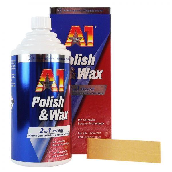 DR. WACK A1 Polish & Wax Politur & Wachs 2 in 1 Pflege Lackpolitur 250 ml