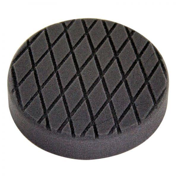 Polierpad Polierschwamm Politur schwarz weich mit Diamantprofil Ø 150mm 1 Stk