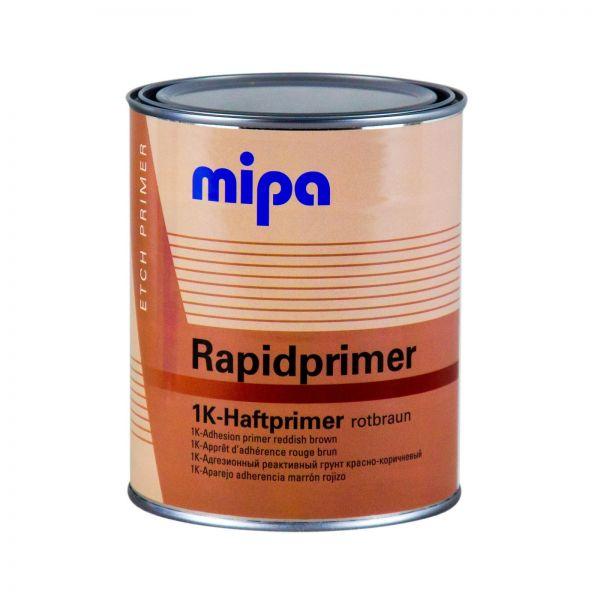 MIPA Rapidprimer 1K-Haftprimer rotbraun Grundierung Primer Rostschutz 1 L Liter