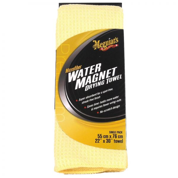 MEGUIAR'S MEGUIARS Water Magnet Drying Towel Trockentuch Mikrofaser 70 x 55 cm
