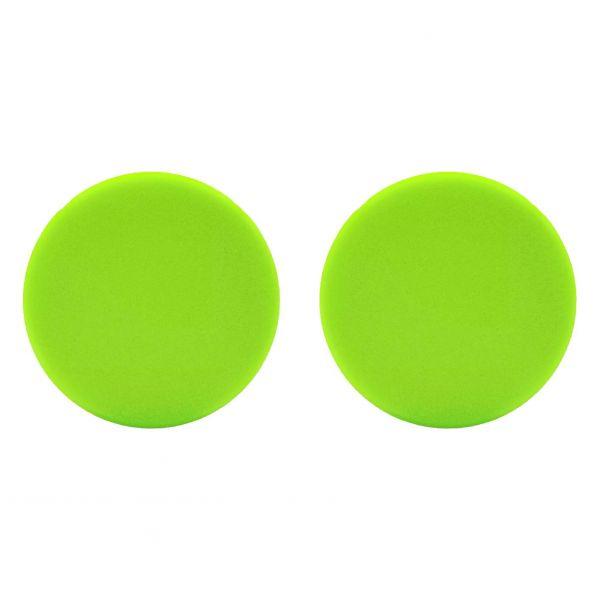 2x LIQUID ELEMENTS Polierpad Polierschwamm Polierscheibe grün weich 80/20 mm