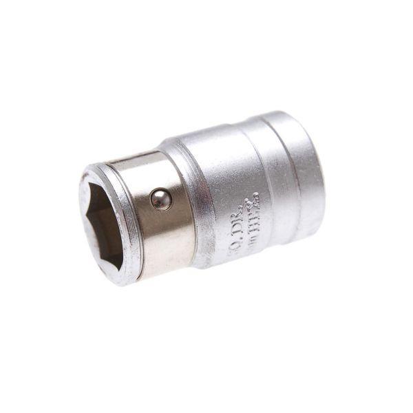 """BGS Bit-Adapter mit Haltekugel Innenvierkant 12,5 mm (1/2"""""""") Innensechskant 14 mm"""