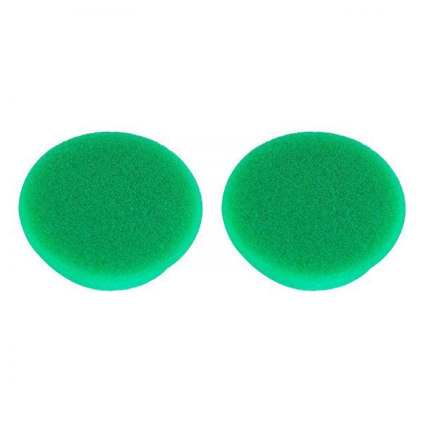 2x RUPES Polierpad Medium Polierschwamm Polierscheibe grün mittel 30-40mm