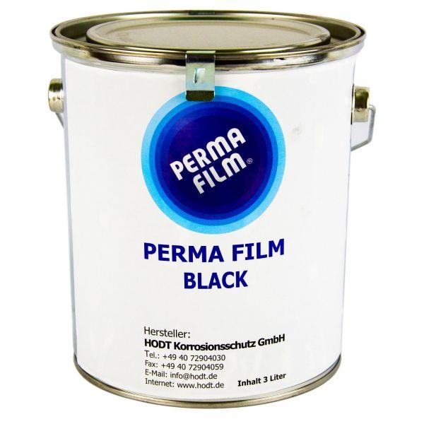 PERMA FILM BLACK Rostschutz Korrosionsschutz Hohlraumversiegelung 3 L Liter