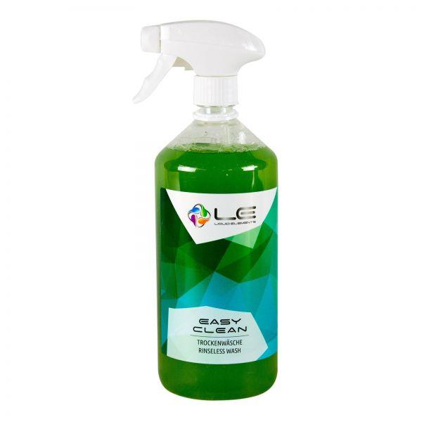 LIQUID ELEMENTS Easy Clean Rinseless Wash Trockenwäsche Reinigung Shampoo 1 L
