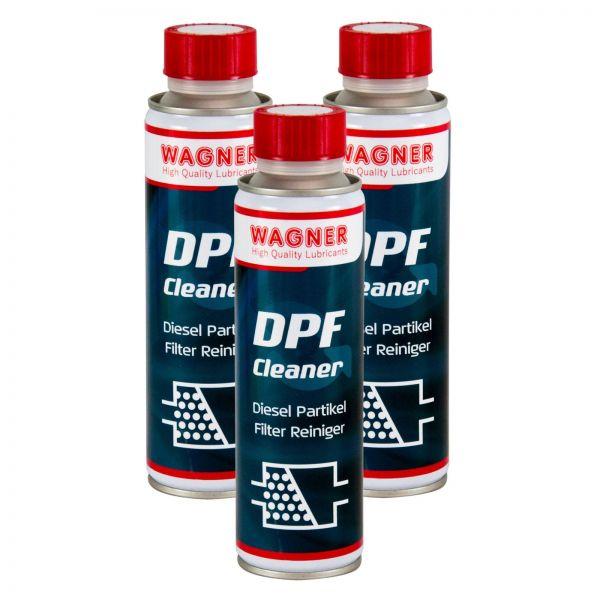 3x WAGNER SPEZIALSCHIERSTOFFE DPF-Cleaner Dieselpartikelfilter-Reiniger 300 ml