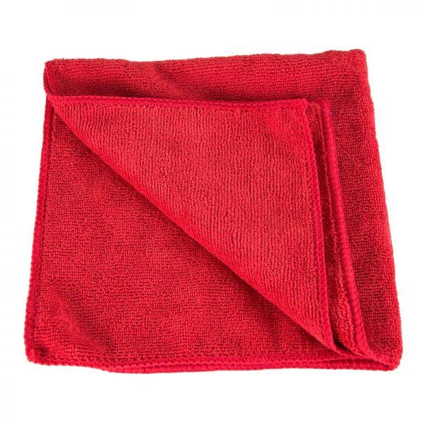 ZviZZer Mikrofasertuch Rot Poliertuch Microfaser Mikrofaser Tuch 40x40 cm
