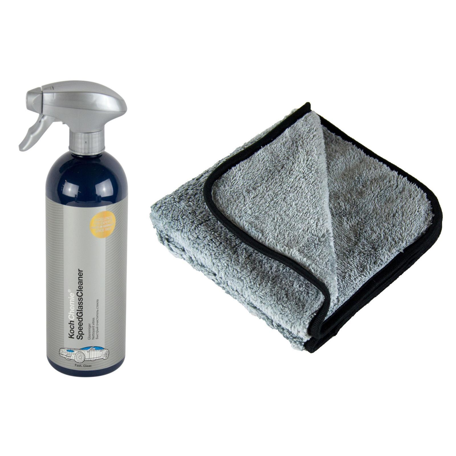 koch chemie glasreiniger 750 ml p4c mikrofasertuch. Black Bedroom Furniture Sets. Home Design Ideas