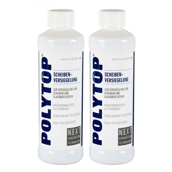2x POLYTOP Scheibenversiegelung Scheiben Versiegelung Glasversiegelung 500 ml