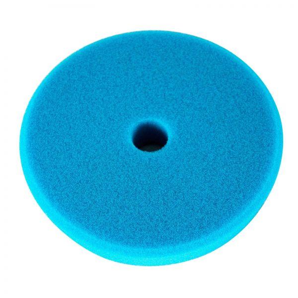 """ZviZZer Polierpad """"Trapez"""" Polierschwamm Polierscheibe blau extrem hard 145/25mm"""