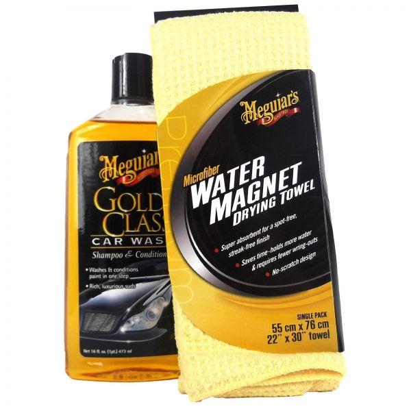 MEGUIAR'S MEGUIARS Gold Class Shampoo & Water Magnet Mikrofasertuch