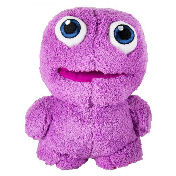 LIQUID ELEMENTS Purple Monster Plüschtier Stofftier aus Mikrofaserstoff 1 Stk
