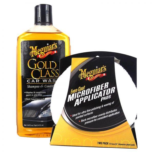 MEGUIAR'S MEGUIARS Gold Class Shampoo & Even Coat Polierschwamm