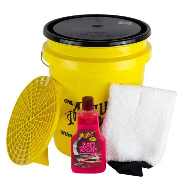 MEGUIAR'S MEGUIARS Shampoo Soft Wash Gel & Wascheimer + Deckel & Waschhandschuh