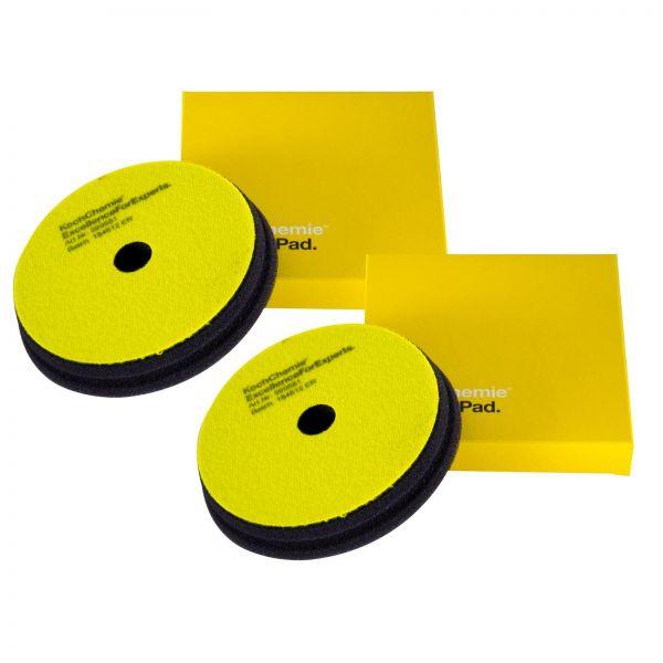 2x KOCH CHEMIE Fine Cut Pad Polierpad Polierschwamm Schleifschwamm 150/23 mm