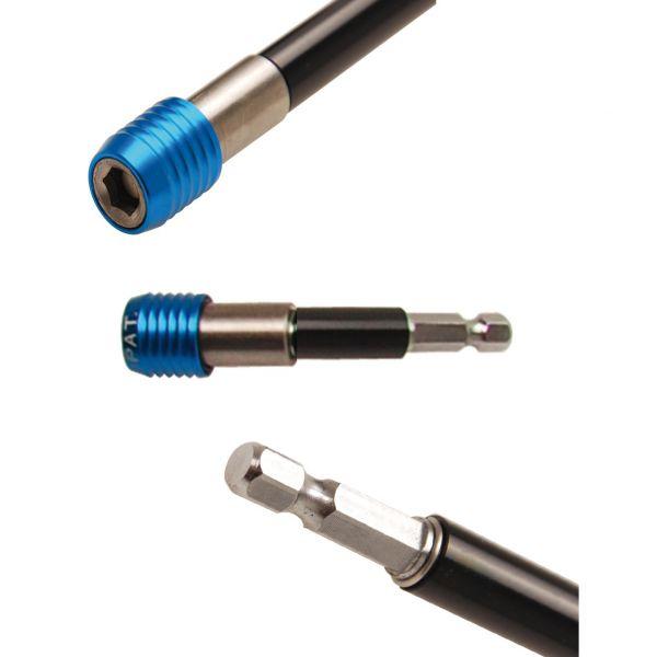 """BGS Automatischer Bithalter Abtrieb Innensechskant 6,3 mm (1/4"""""""") 80 mm"""