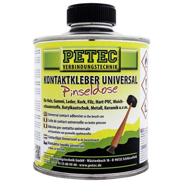 PETEC Kontaktkleber Gummikleber Metallkleber Universalkleber Klebstoff 350 ml