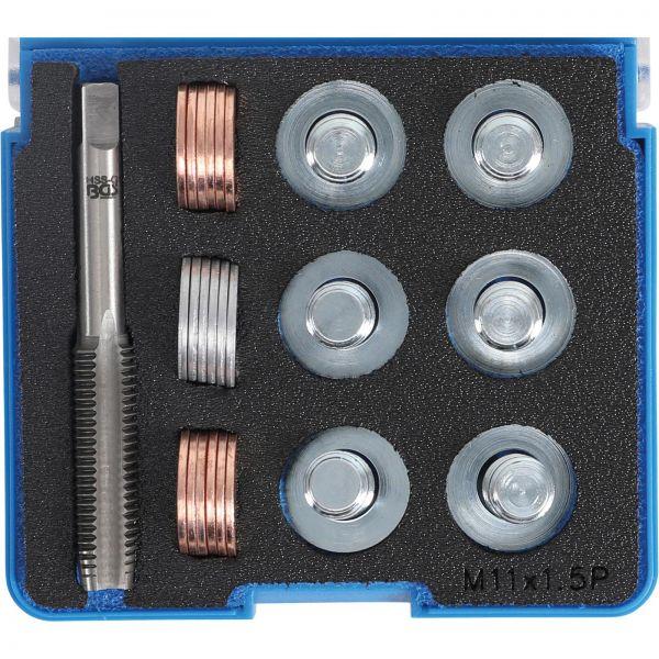 BGS Reparatursatz für Öl-Ablass-Gewinde M11 x 1,5 mm