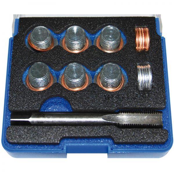 BGS Reparatursatz für Öl-Ablass-Gewinde M14 x 1,25 mm