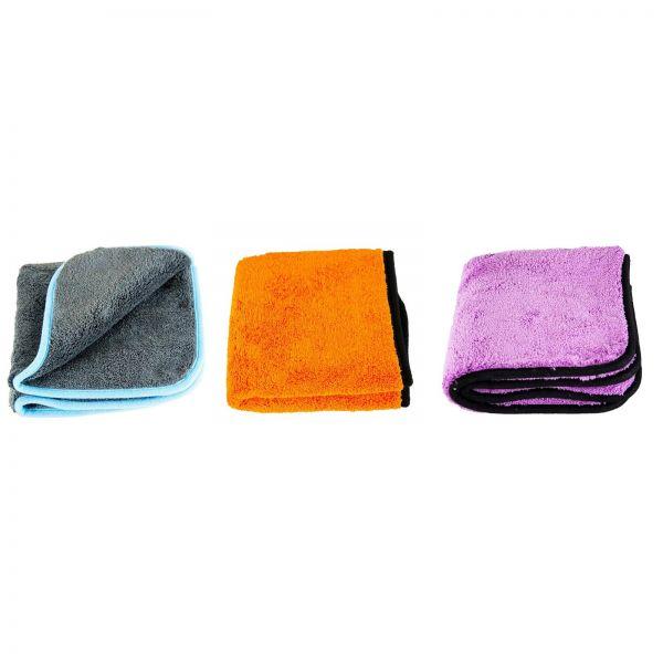 LIQUID ELEMENTS Silverback & Orange Baby & Purple Monster Trockentuch Tuch