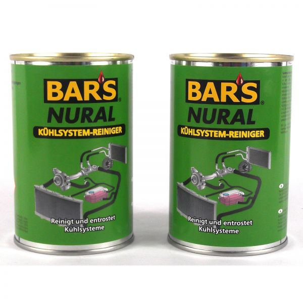 2x DR. WACK BAR'S BARS Nural Kühlsystem-Reiniger 150 g