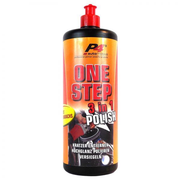 P4 One Step 3in1 Polish Politur Carnaubawachs Kratzer Entferner 1 L Liter