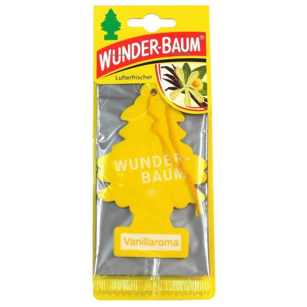 WUNDERBAUM Vanillaroma Orginal Lufterfrischer Duftbaum Fahrzeugduft 1 Stk