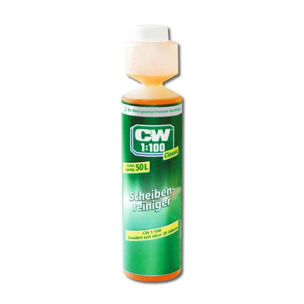 DR. WACK CW1:100 Classic Scheibenreiniger Scheibenreinigung Konzentrat 250 ml