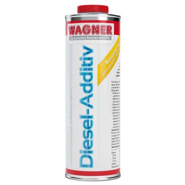 WAGNER SPEZIALSCHMIERSTOFFE Diesel-Additiv 2- und 4-Takt-Dieselmotoren 1 L Liter