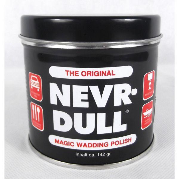NEVR DULL Polierwatte für Chrom, Alu, Messing und andere Metalle 142 g
