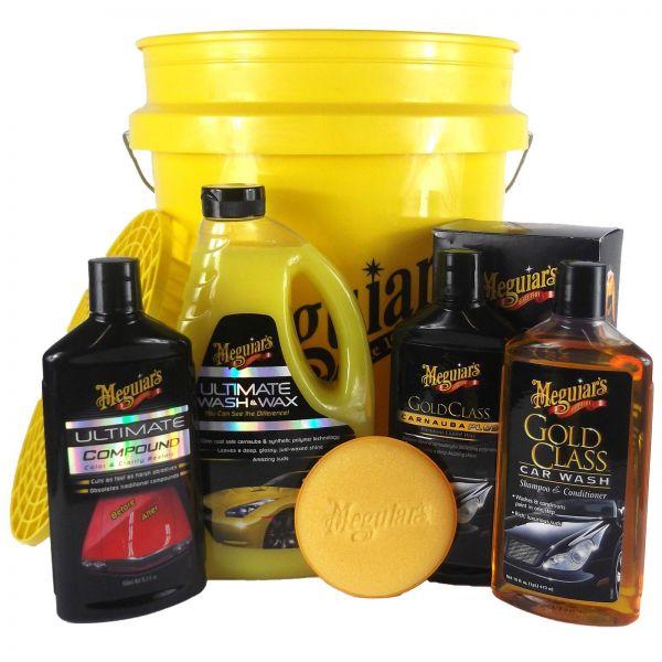 MEGUIAR'S MEGUIARS Grit Guard Eimer & Shampoo & Compound Lackreiniger & Wachs