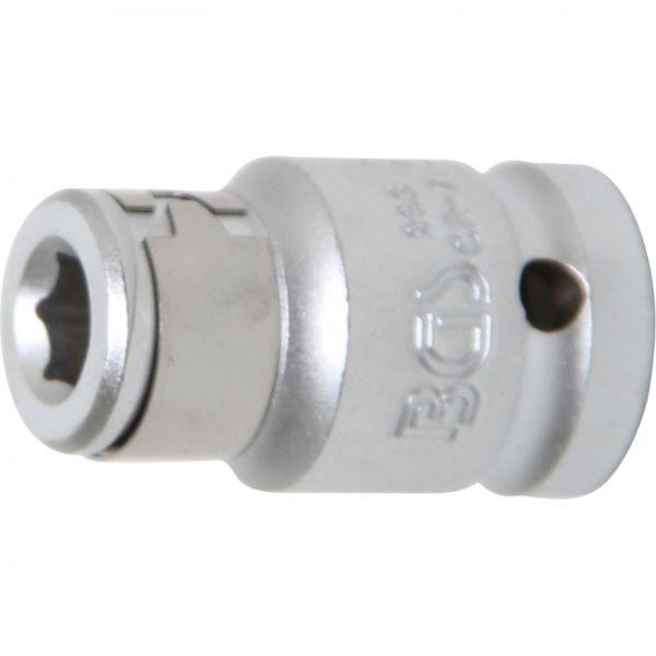 """BGS Bit-Adapter Haltekugel 12,5 mm (1/2"""""""") Innensechskant 8 mm (5/16"""""""")"""