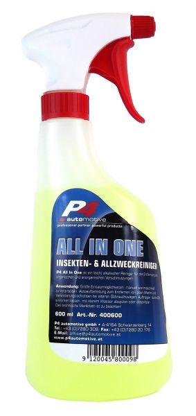 P4 All in One Universalreiniger Insektenentferner Allzweckreiniger 600 ml