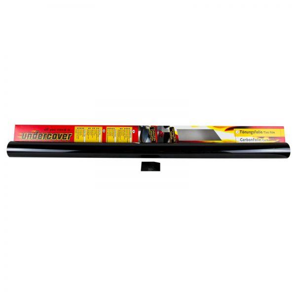 UNDERCOVER Tönungsfolie Scheibenfolie tiefschwarz schwarz 76 x 300 cm 1 Stk