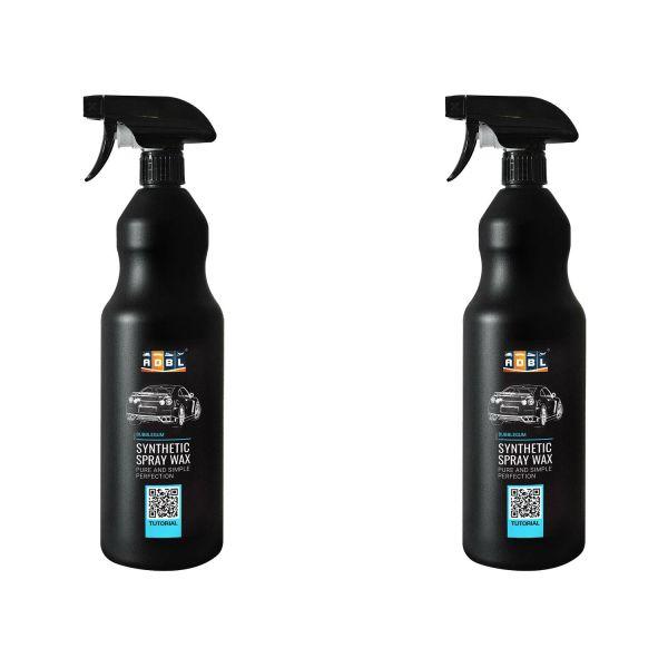 2x ADBL Synthetic Wax Wachs Sprühwachs Synthetic Detailer Schnellwachs Auto 1 L