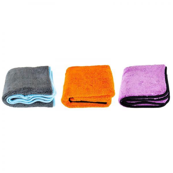 LIQUID ELEMENTS Silverback XL & Orange Baby XL & Purple Monster Trockentuch