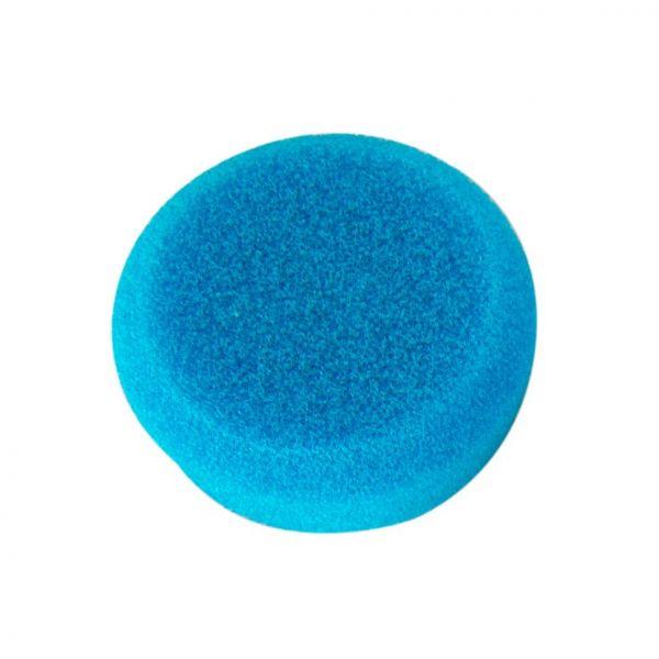 """ZviZZer Polierpad """"Trapez"""" Polierschwamm Polierscheibe blau extrem hard 55/20 mm"""