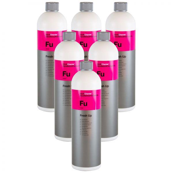 6x KOCH CHEMIE Fu Fresh Up Geruchskiller Geruchsentferner Geruchsvernichter 1 L
