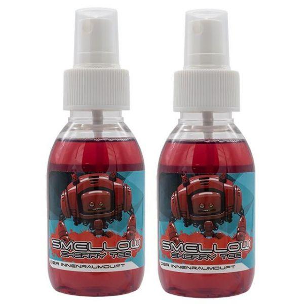2x LIQUID ELEMENTS Smellow Cherry Tec Innenraumduft Lufterfrischer Duft 100 ml