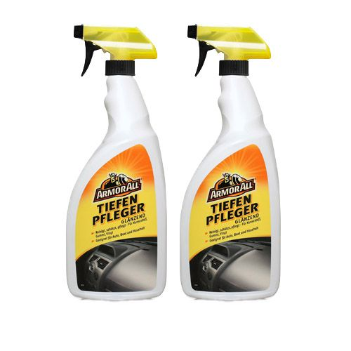2x ARMOR ALL Tiefenpfleger Kunststoff Pflege Reiniger glänzend 1 L Liter