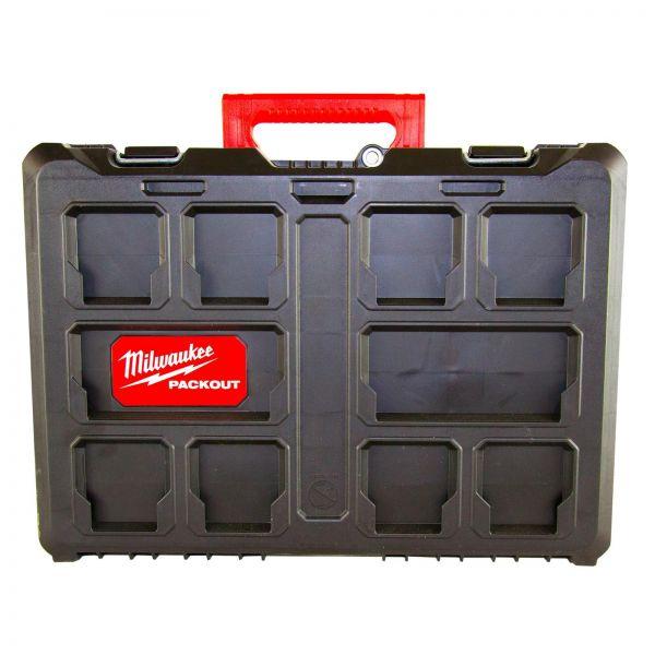 MILWAUKEE Packout Koffer Aufbewahrungsbox Werkzeugbox 560 x 410 x 170 cm