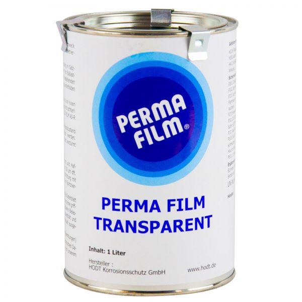 PERMA FILM TRANSPARENT Rostschutz Korrosionsschutz Hohlraumversiegelung 1 Liter