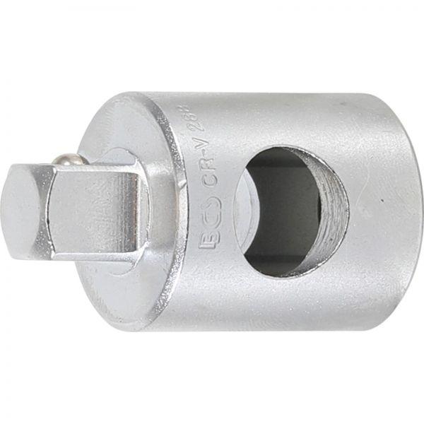 """BGS Gleitgriff-Adapter für Verlängerungen Abtrieb Außenvierkant 10 mm (3/8"""""""")"""