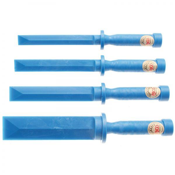 BGS Kunststoff-Schaber-Satz 19 - 22 - 25 - 38 mm breit 4-tlg.