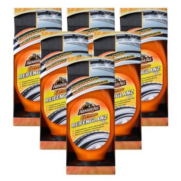 6x ARMOR ALL Extreme Reifenglanz Reifenpflege 530 ml