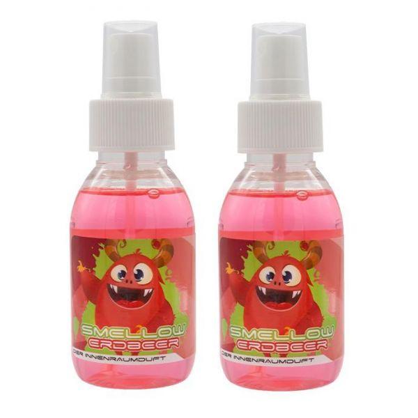2x LIQUID ELEMENTS Smellow Erdbeer Innenraumduft Lufterfrischer Duft 100 ml